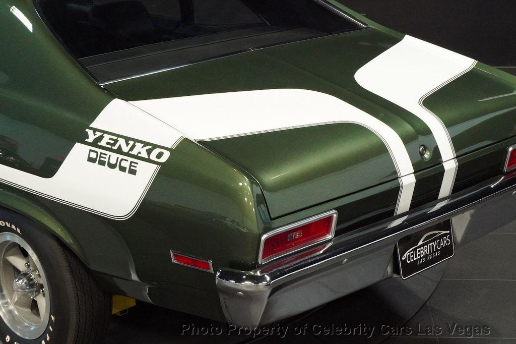 1970 Chevrolet Nova Yenko Deuce COPO LT1 350 -Real Yenko Deuce  - 15436270 - 37
