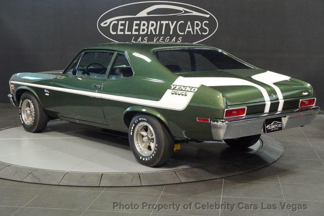 1970 Used Chevrolet Nova Yenko Deuce COPO LT1 350 -Real Yenko Deuce at  Celebrity Cars Las Vegas, NV, IID 15436270