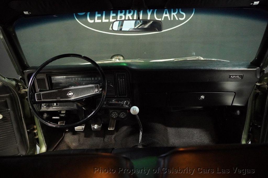 1970 Chevrolet Nova Yenko Deuce COPO LT1 350 -Real Yenko Deuce  - 15436270 - 65