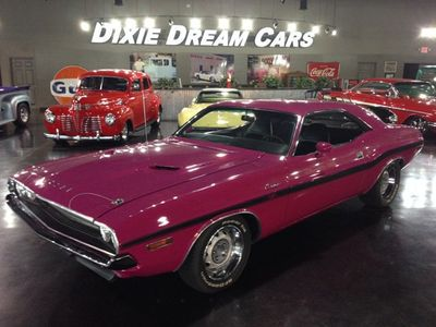 1970 Dodge Challenger R/T 6-Pack Panther Pink - Click to see full-size photo viewer