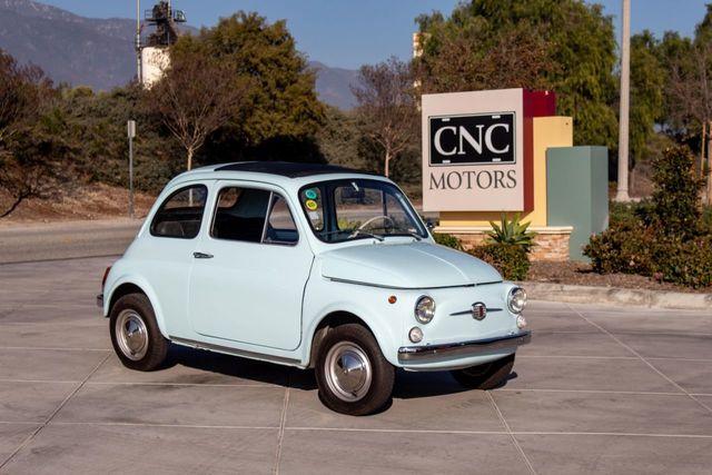 1970 Used Fiat Nuova 500 At Cnc Motors Inc Serving Upland Ca Iid 18520380