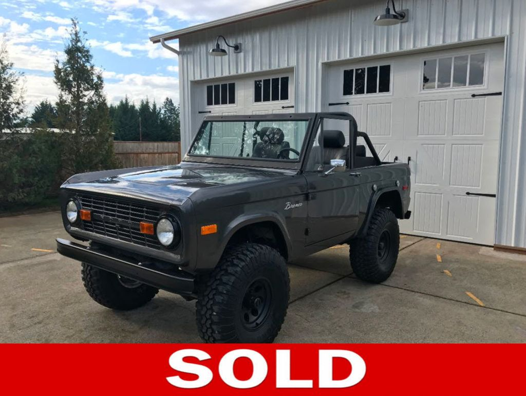 1970 Ford Bronco  - 16272354 - 0