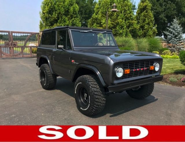 1970 Ford Bronco Fresh Custom Resto in Gun Metal Metallic!  - 17420731 - 0
