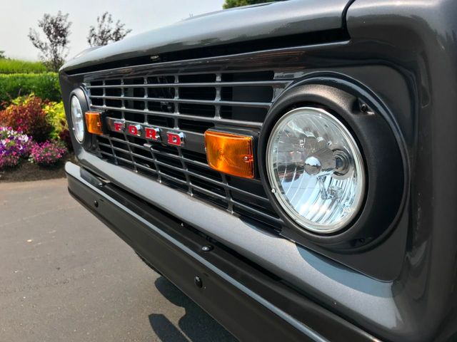 1970 Ford Bronco Fresh Custom Resto in Gun Metal Metallic!  - 17420731 - 15