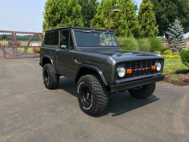 1970 Ford Bronco Fresh Custom Resto in Gun Metal Metallic!  - 17420731 - 1