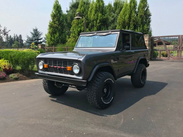 1970 Ford Bronco Fresh Custom Resto in Gun Metal Metallic!  - 17420731 - 2