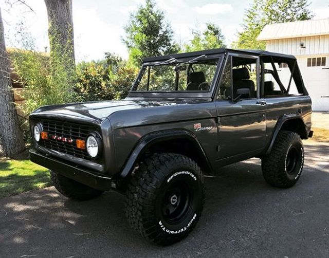 1970 Ford Bronco Fresh Custom Resto in Gun Metal Metallic!  - 17420731 - 8