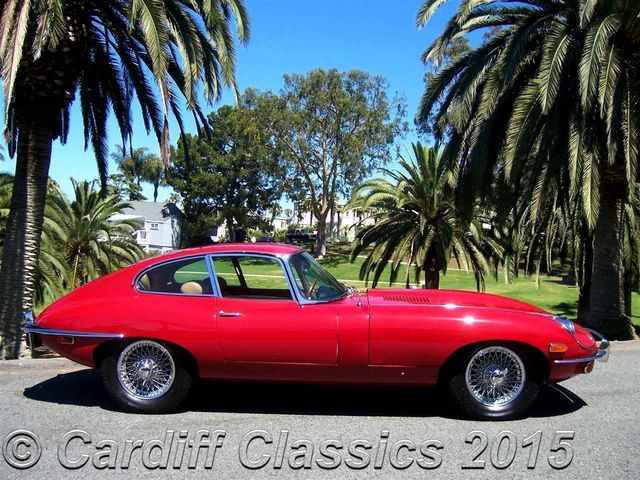 1970 Used Jaguar XKE Series II at Cardiff Classics Serving Encinitas ...