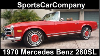1970 Mercedes-Benz 280Sl  - Click to see full-size photo viewer