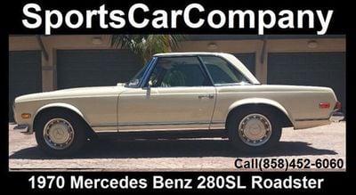 1970 Mercedes-Benz 280SL  Convertible