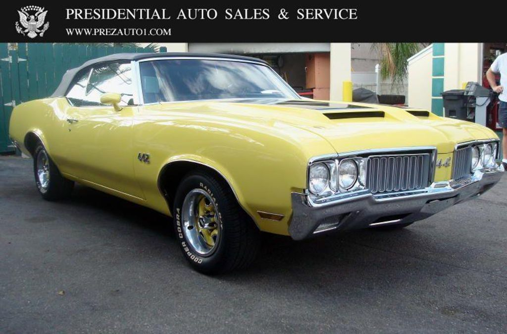 1970 Used Oldsmobile Cutlass 442 Convertible at Presidential Auto ...