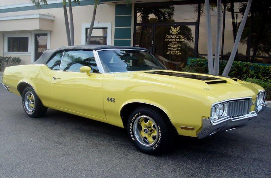 1970 used oldsmobile cutlass 442 convertible at