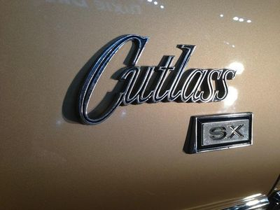 1970 Oldsmobile Cutlass Supreme SX SOLD - Click to see full-size photo viewer