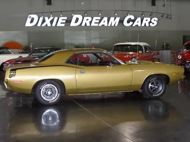1970 Used Plymouth Barracuda 383 CUDA SOLD at DIXIE DREAM CARS ...