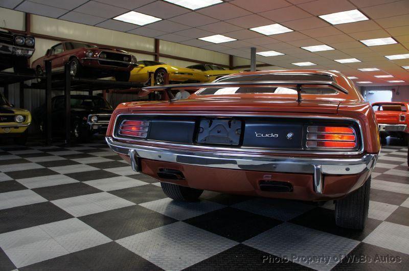 1970 Plymouth Cuda 440-6 Pac - 8729576 - 20