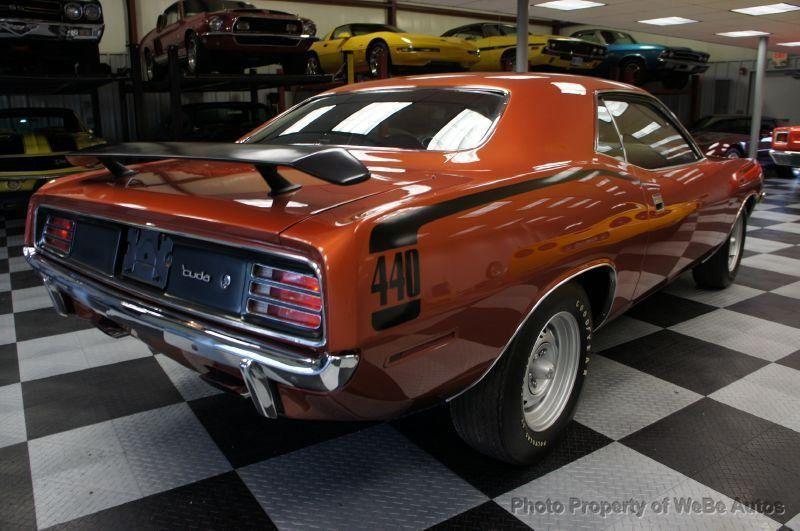 1970 Plymouth Cuda 440-6 Pac - 8729576 - 21