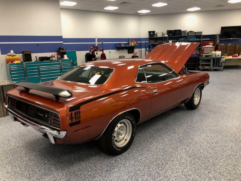 1970 Plymouth Cuda 440-6 Pac - 8729576 - 4
