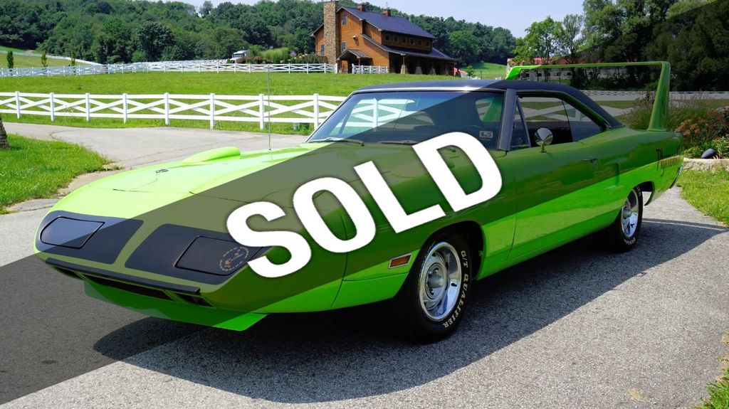 1970 Plymouth Superbird Real Deal For Sale - 17478394 - 0