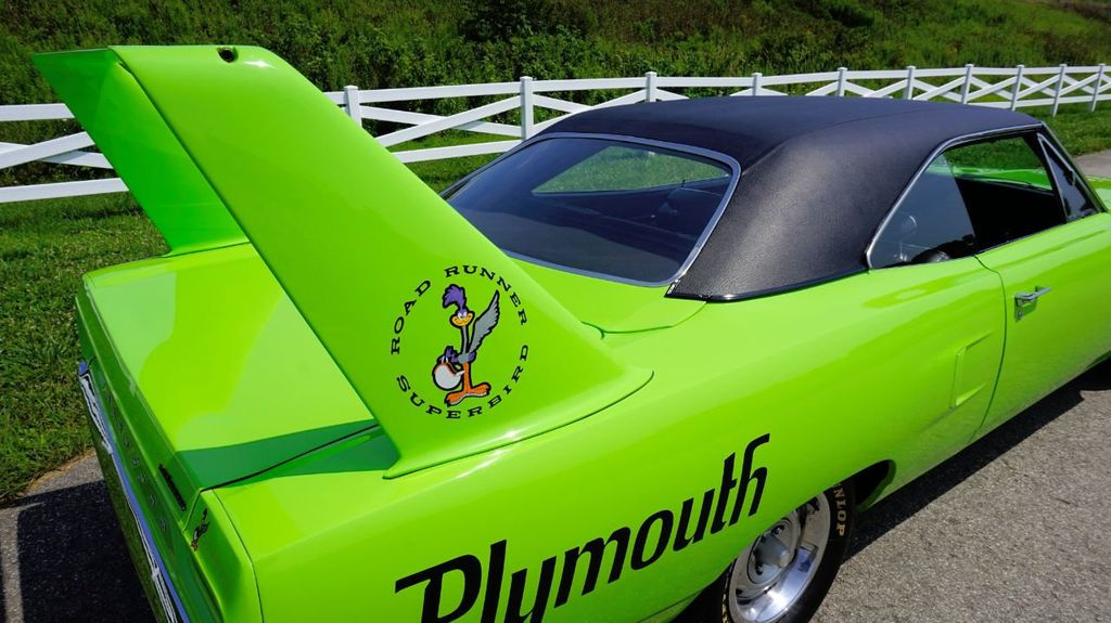 1970 Plymouth Superbird Real Deal For Sale - 17478394 - 12