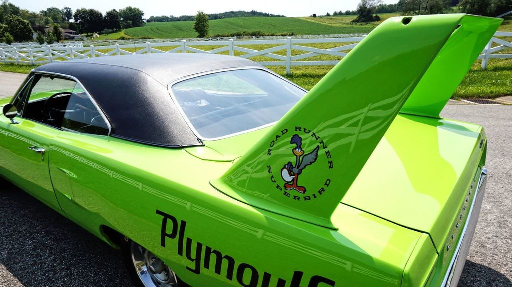1970 Plymouth Superbird Real Deal For Sale - 17478394 - 13