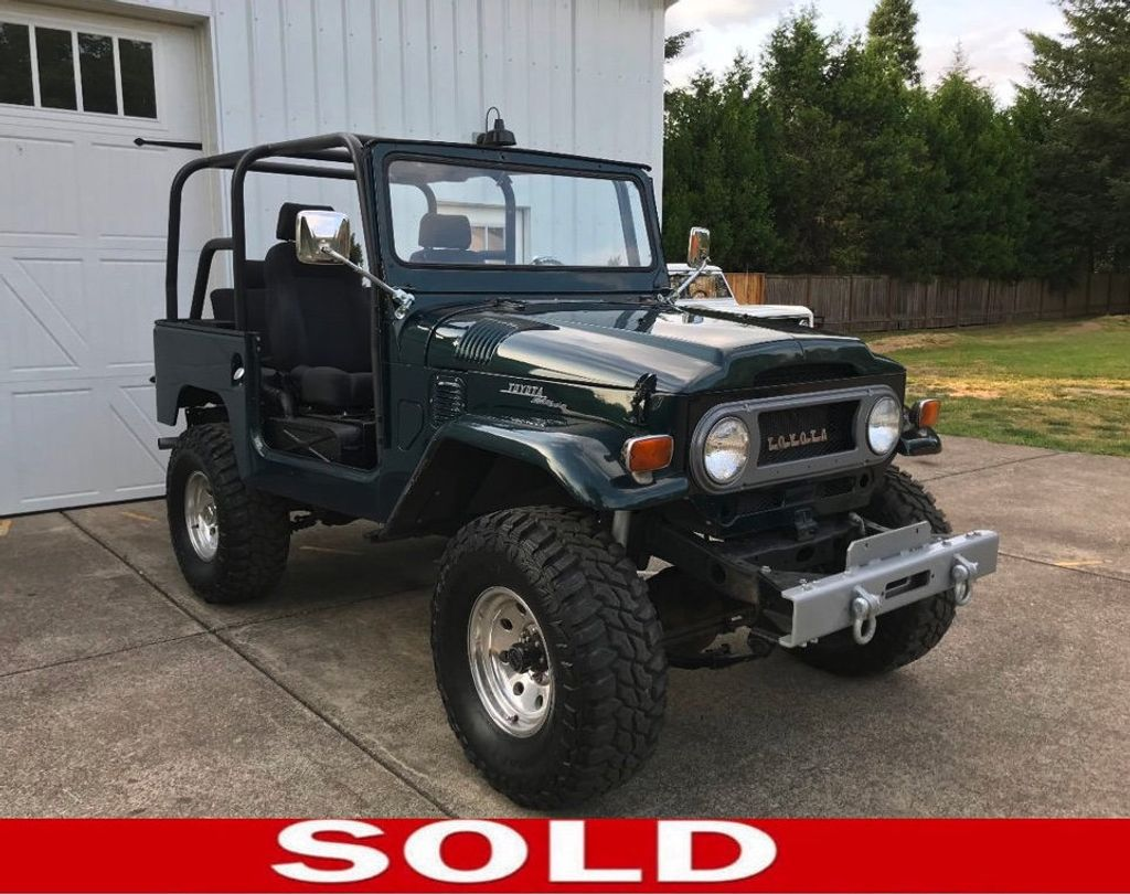 1970 Toyota FJ40 Land Cruiser LS 5.3 Vortec mated to an Automatic! - 17749475 - 0
