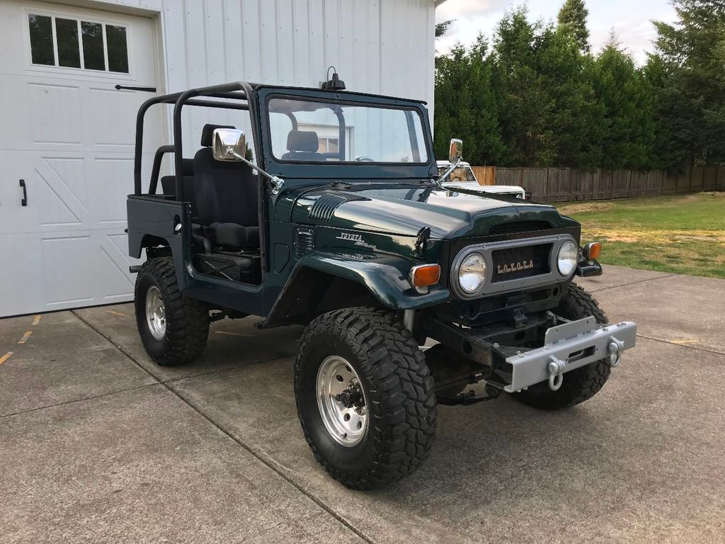 1970 Toyota FJ40 Land Cruiser LS 5.3 Vortec mated to an Automatic! - 17749475 - 1