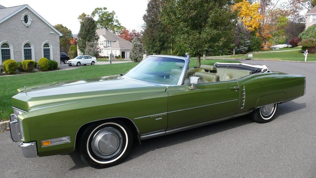 1971 Used Cadillac Eldorado Rare Color At Find Great Cars Serving