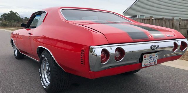 1971 Chevrolet Chevelle SS - Click to see full-size photo viewer