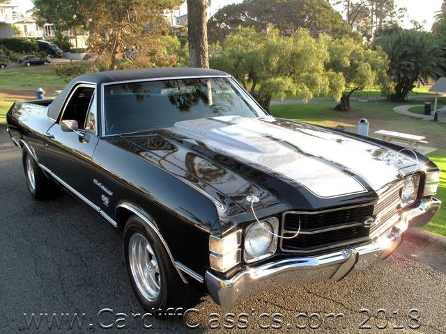 1971 Chevrolet El Camino SS 454  - Click to see full-size photo viewer