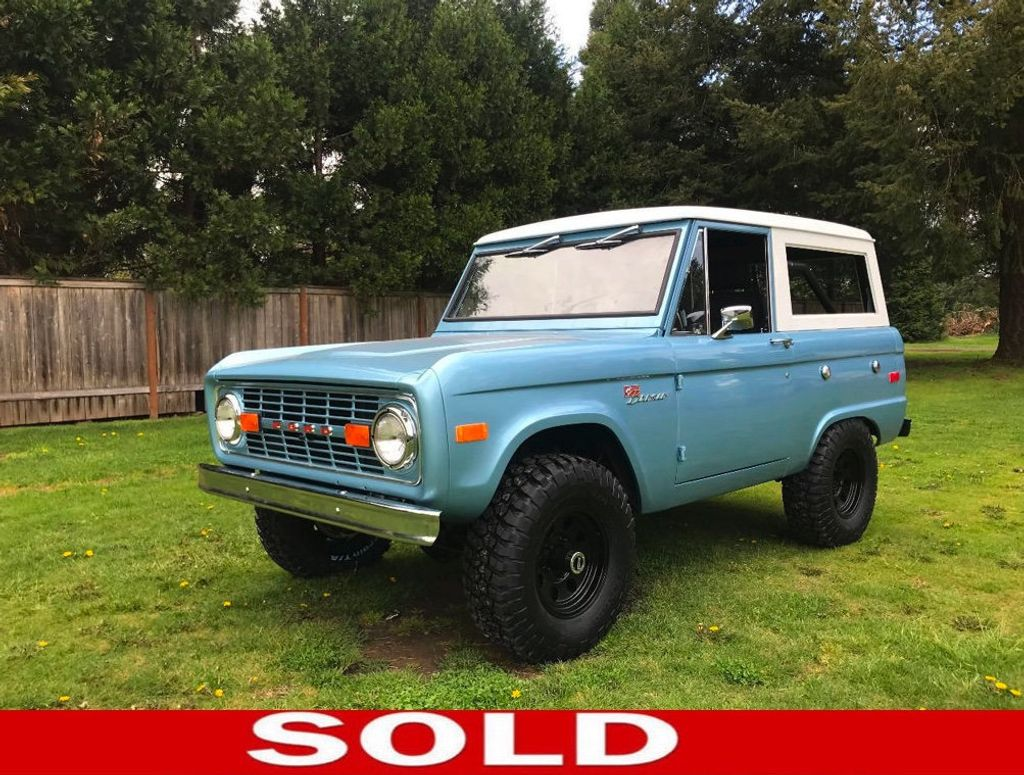 1971 Ford Bronco  - 17420737 - 0
