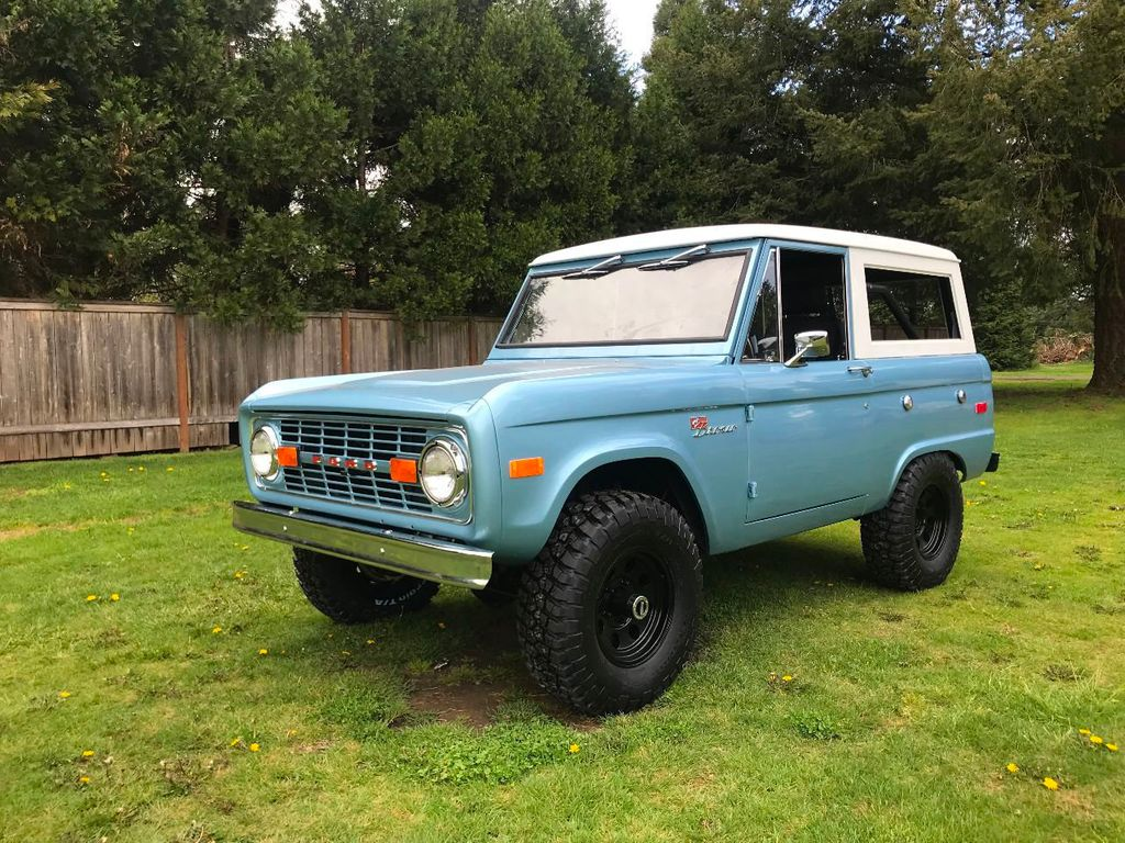 1971 Ford Bronco  - 17420737 - 1