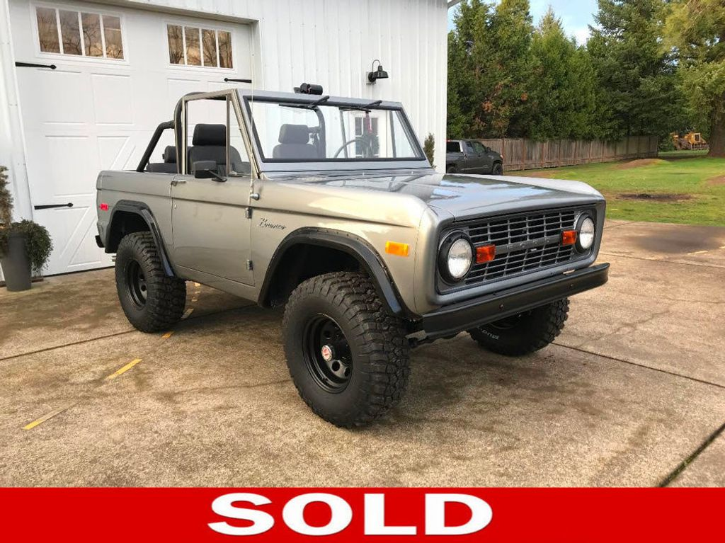 1971 Ford Bronco 302 V8, 3spd, All New Interior and Paint - Choice of Top - 16680989 - 0
