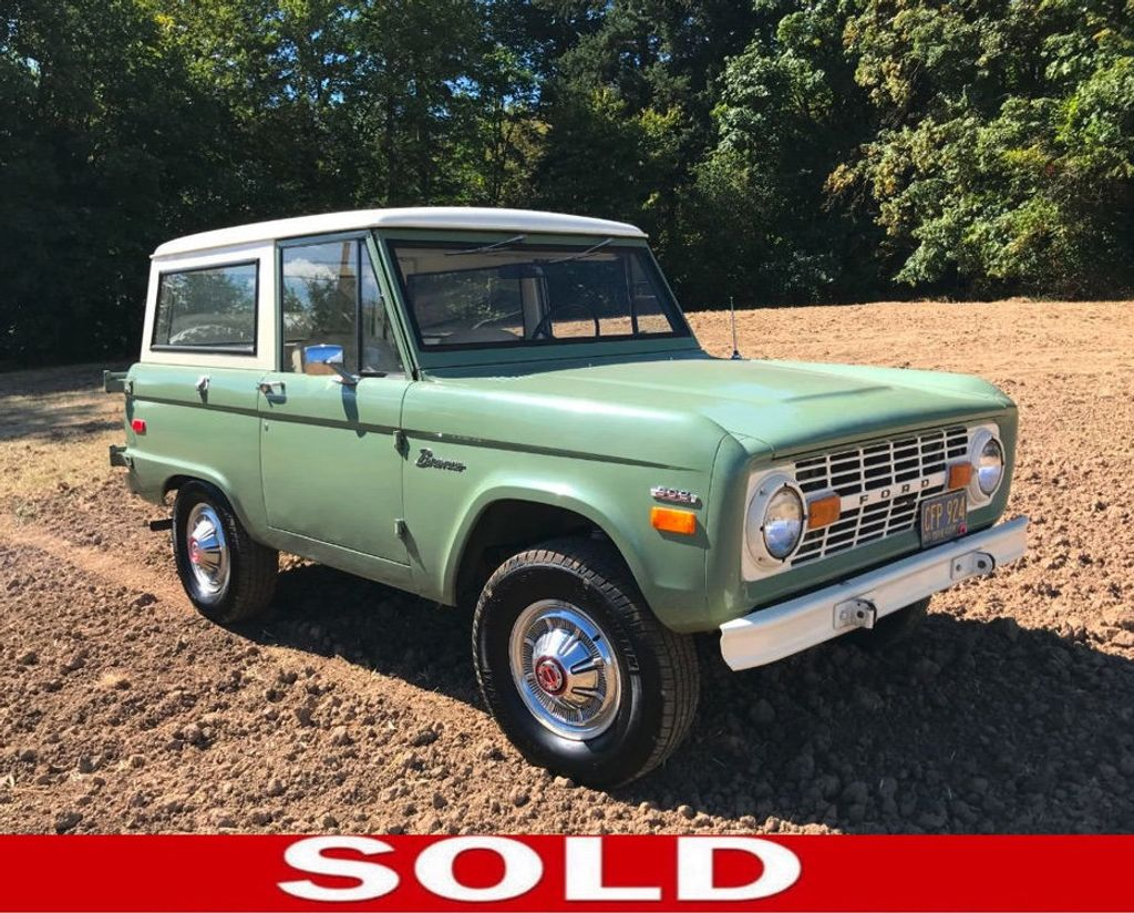 1971 Ford Bronco 55k Original and Documented Miles! So clean and stock! - 18122848 - 0