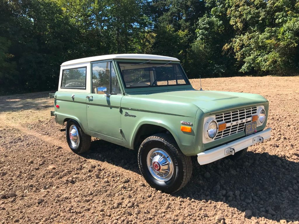 1971 Ford Bronco 55k Original and Documented Miles! So clean and stock! - 18122848 - 1