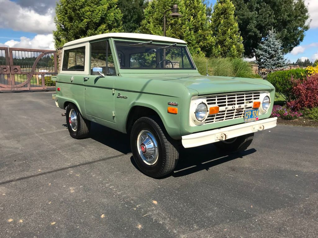 1971 Ford Bronco 55k Original and Documented Miles! So clean and stock! - 18122848 - 2