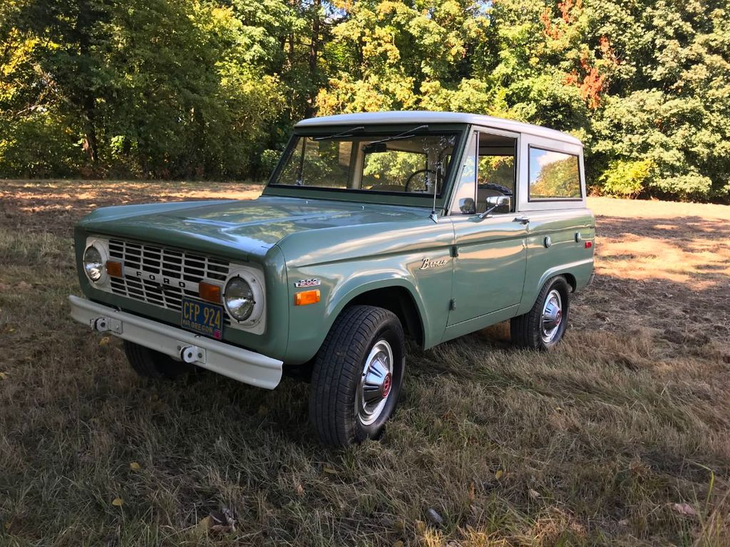 1971 Ford Bronco 55k Original and Documented Miles! So clean and stock! - 18122848 - 29
