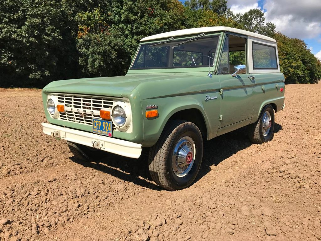 1971 Ford Bronco 55k Original and Documented Miles! So clean and stock! - 18122848 - 5
