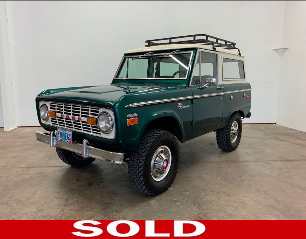 1971 Ford Bronco LUBR! Rebuilt Engine and Trans, PS & Disc Brakes  - 18152134 - 0