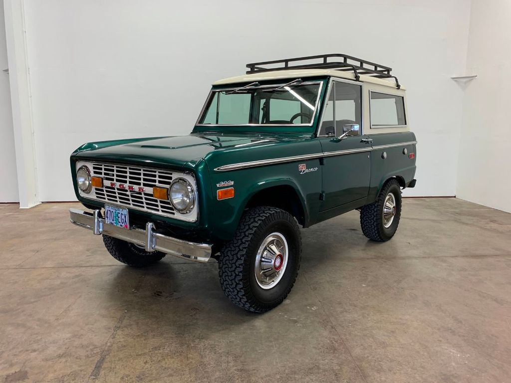 1971 Ford Bronco LUBR! Rebuilt Engine and Trans, PS & Disc Brakes  - 18152134 - 1