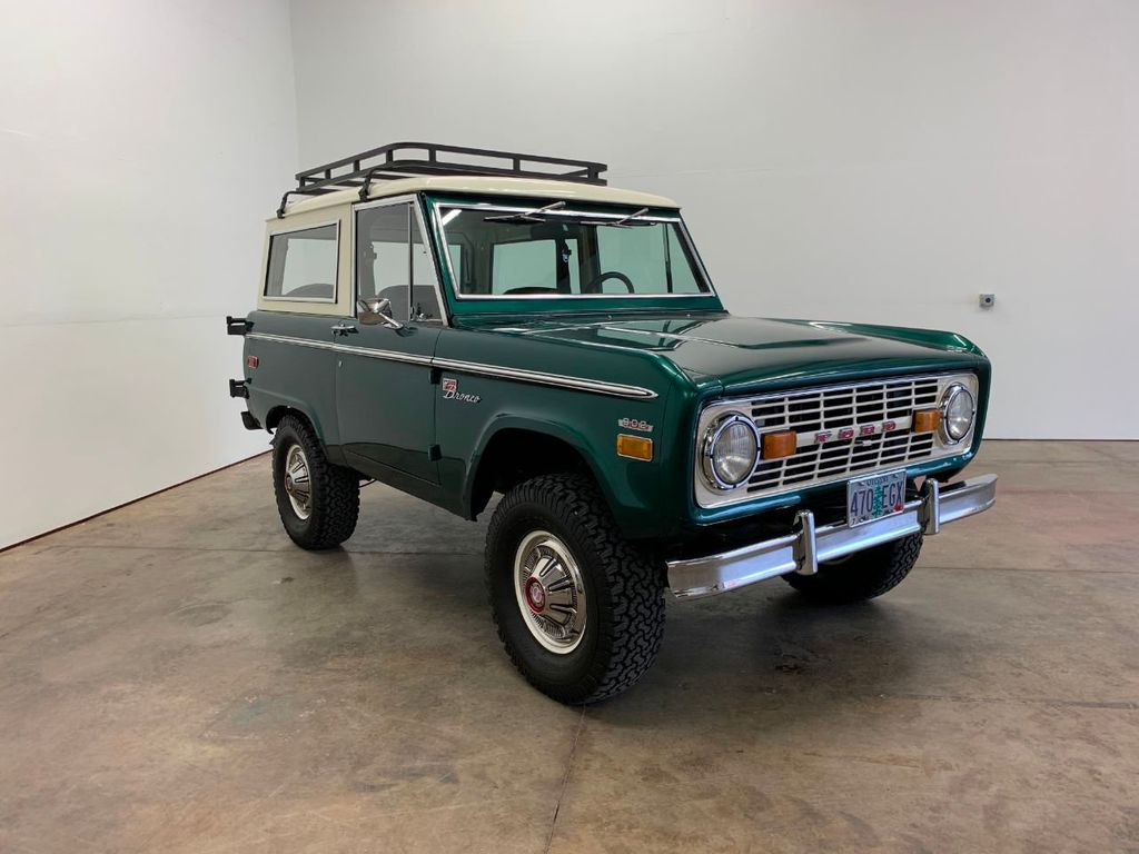 1971 Ford Bronco LUBR! Rebuilt Engine and Trans, PS & Disc Brakes  - 18152134 - 2