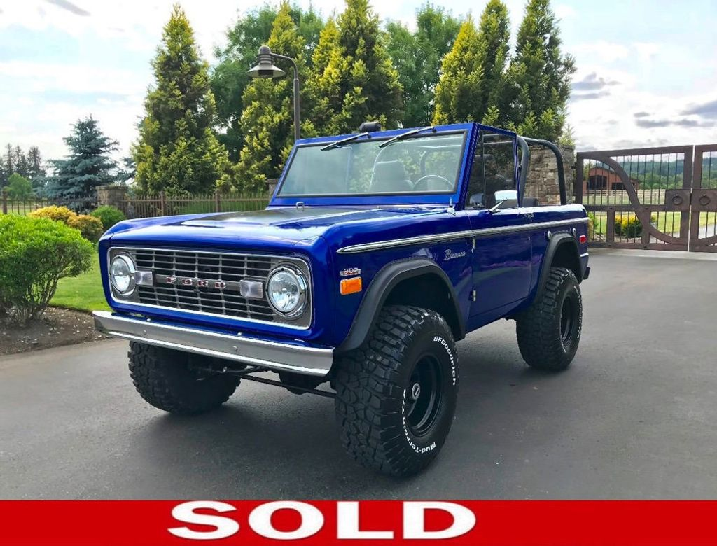 1971 Ford Bronco Show Quality Bronco - Very Straight!  - 17585241 - 0
