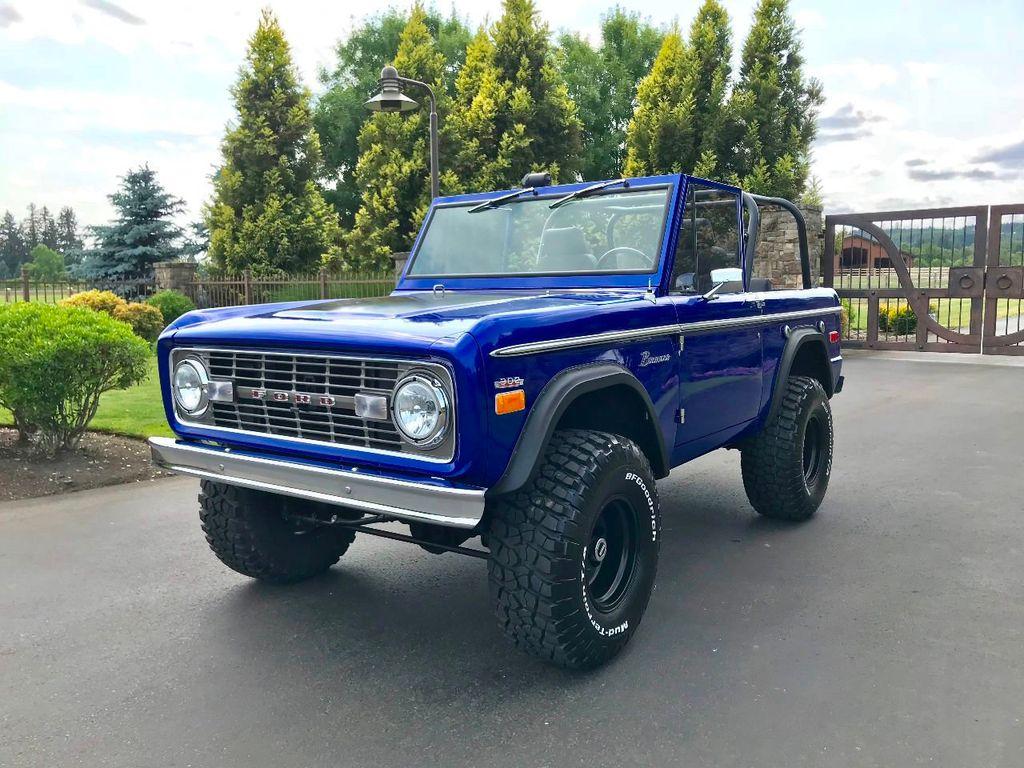 1971 Ford Bronco Show Quality Bronco - Very Straight!  - 17585241 - 1