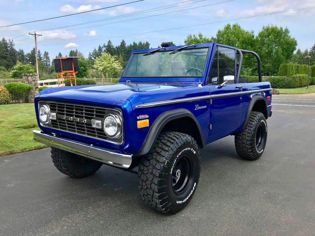 1971 Ford Bronco Show Quality Bronco - Very Straight!  - 17585241 - 2