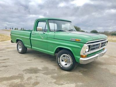 1971 Ford F-100  Coupe