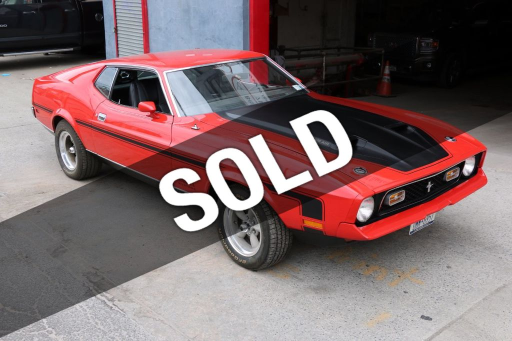 1971 Ford Mustang Mach 1 16443393 0