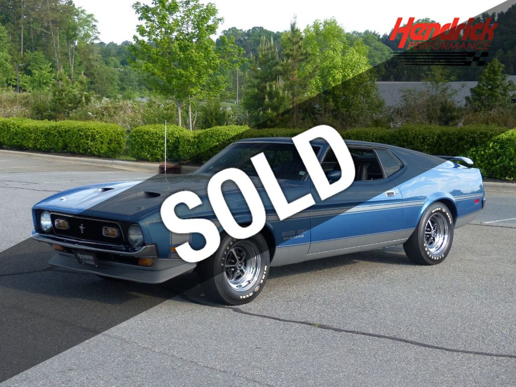 1971 ford mustang boss 351 perfectly restored acapulco blue boss 351 mustang coupe for sale charlotte nc 128990 motorcar com
