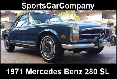 1971 Mercedes-Benz 280 SL  - Click to see full-size photo viewer