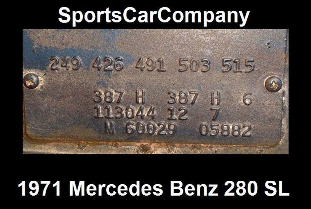 1971 Mercedes-Benz 280 SL  - 15561758 - 73