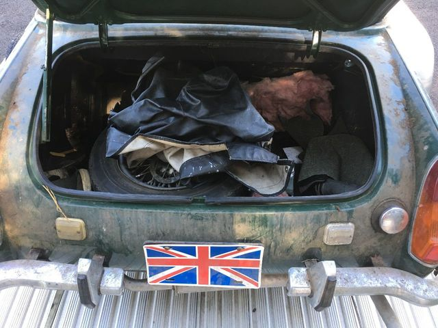 1971 MG MIDGET BARN FIND STORED FOR 28 YEARS LAST INSPECTED 1991 RUNS - Click to see full-size photo viewer