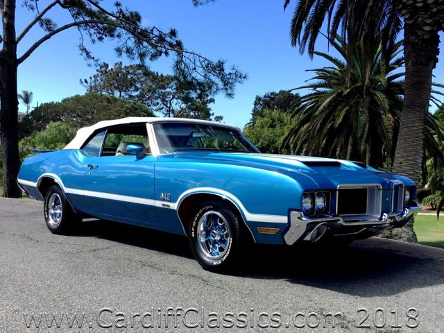 1971 Oldsmobile 442 CONVERTIBLE  - Click to see full-size photo viewer
